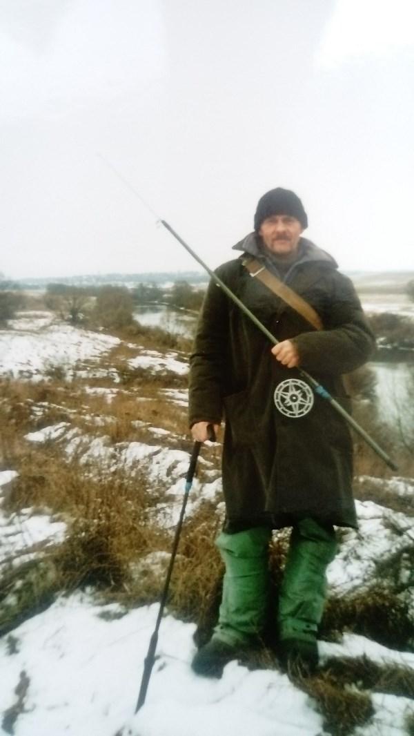 Рыбак с большим стажем)