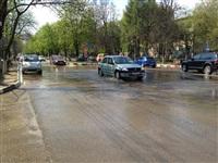 В центре Тулы хлещет вода, Фото: 6