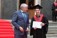 Владимир Груздев поздравил выпускников магистратуры ТулГУ, Фото: 68