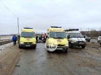 В страшном ДТП под Тулой погибли два человека, Фото: 18