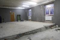 Дмитрий Миляев проверил, как идет ремонт вечерней школы на ул. Зорге, Фото: 4