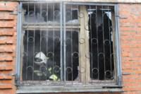 В Скуратово загорелось заброшенное училище, Фото: 7