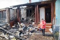 Сгоревший дом на ул. Локомотивной (Щекино), Фото: 1