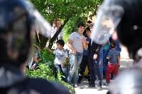 В Плеханово начали сносить дома в цыганском таборе, Фото: 103