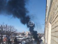 В Пролетарском районе Тулы загорелся микроавтобус, Фото: 5