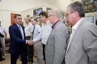 Алексей Дюмин  посетил АО «АК «Туламашзавод», Фото: 9