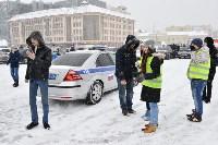 Автофлешмоб на площади Ленина в честь Дня памяти жертв ДТП, Фото: 11