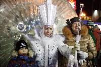 Главную ёлку Тулы открыли грандиозным фейерверком, Фото: 57