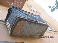 Аварийный фасад в центре Тулы, Фото: 8