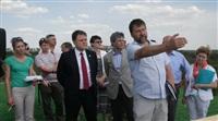 Владимир Груздев посетил строительную площадку нового музейного комплекса «Поле Куликовской битвы», Фото: 2