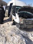 В Тульской области в ДТП с автобусом и маршруткой пострадали несколько человек, Фото: 6