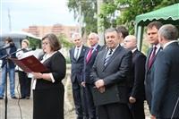 Закладка капсулы в фундамен нового Областного суда, Фото: 21