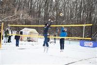 В Туле определили чемпионов по пляжному волейболу на снегу , Фото: 47