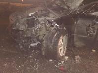 В Ясногорском районе иномарка влетела под фуру, Фото: 2