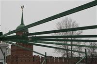 Сборка новогодней елки на площади Ленина, Фото: 6