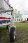 В кремле приземлился вертолет, который установит шпиль колокольни, Фото: 14