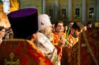 Пасхальное богослужение в Успенском соборе, Фото: 51