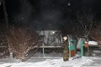 В пос. Менделеевский сгорел частный дом., Фото: 16