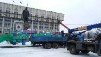 Демонтаж новогодних украшений, Фото: 1