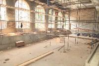 Владимир Груздев проинспектировал ремонт бассейна на улице Гоголевской. 8 июля 2015, Фото: 23