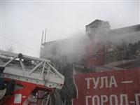 В Туле загорелся дом на ул. Металлистов, Фото: 3