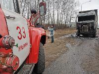 В Петелино сгорел грузовик, Фото: 3