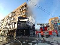 Пожар в пиццерии на Красноармейском, Фото: 13