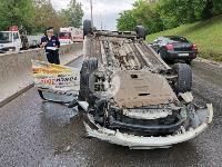 В Туле в ДТП с военным КамАЗом и такси пострадали три человека, Фото: 8
