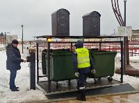 На Казанской набережной впервые в Туле поставили подземную мусорную площадку, Фото: 10