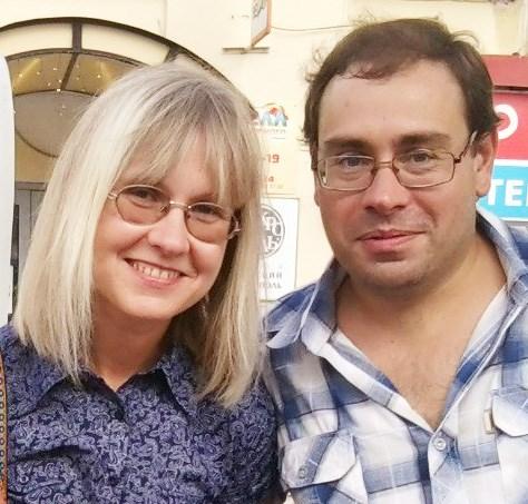Елена Свиридова и Андрей Илюхин